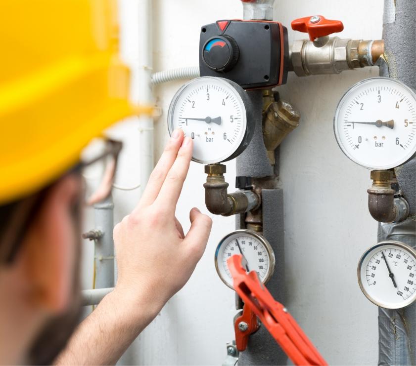 próby szczelności instalacji gazowych